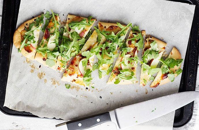 Makkelijk & snel: Flatbread pizza