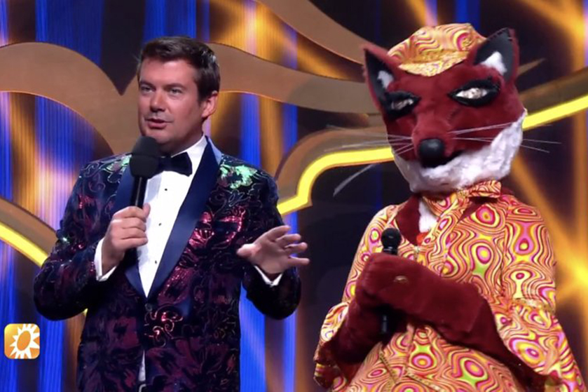 Stop de persen: verklapt deze BN'er wie de Vos is in The Masked Singer?
