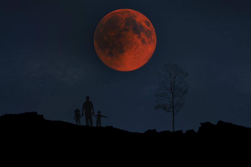 Zet je wekker maar: 'super-bloedmaan' vannacht heel goed te zien!