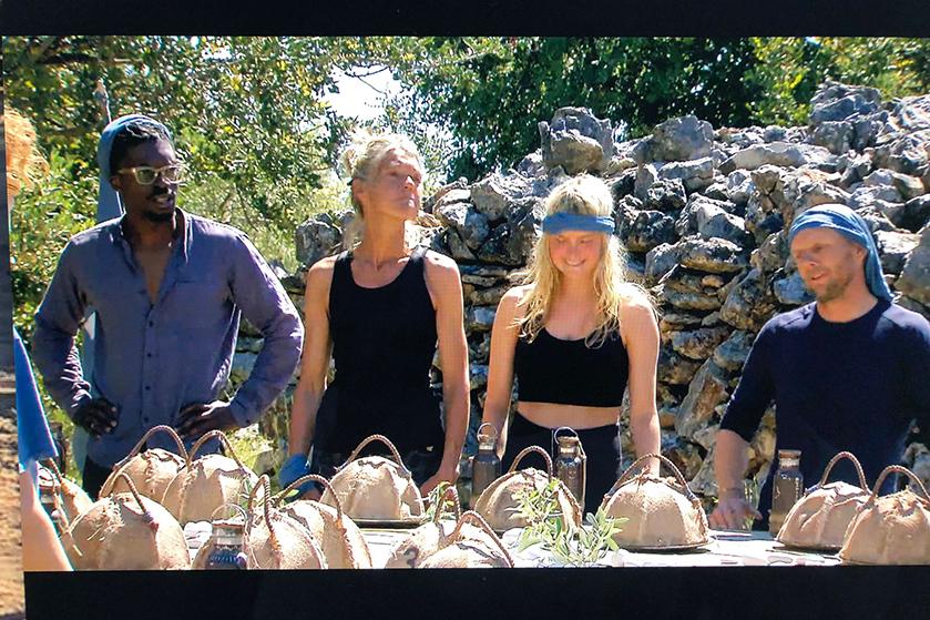 Expeditie Robinson: 'Geitenballen, geitenogen en geitentong: GADVERDAMME'