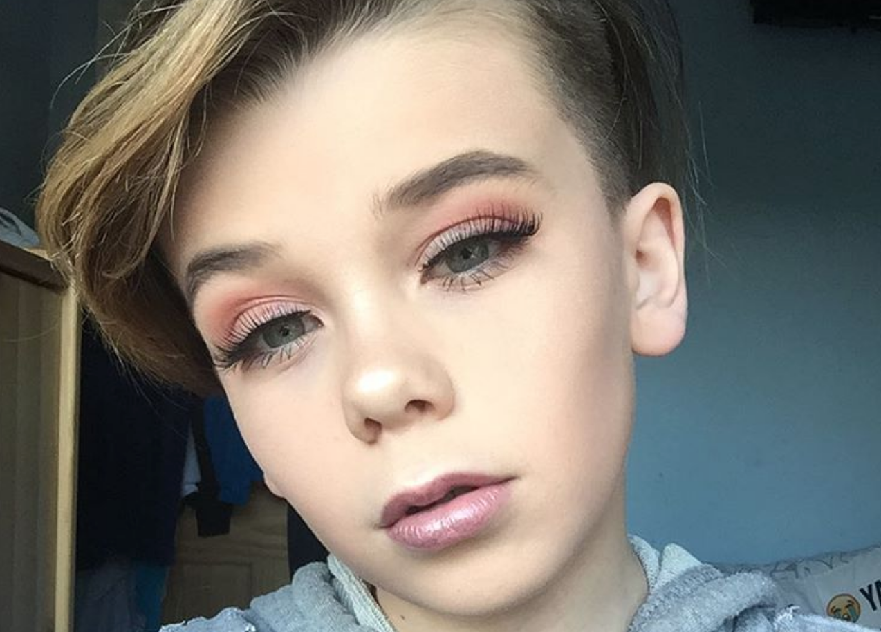Deze 10-jarige Instagrammer is een ware make-up pro