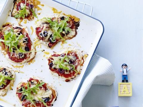 Recept: gezonde pizza van knolselderij