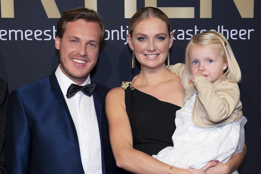 Maxime Meiland is helemaal gesetteld met haar nieuwe gezinnetje