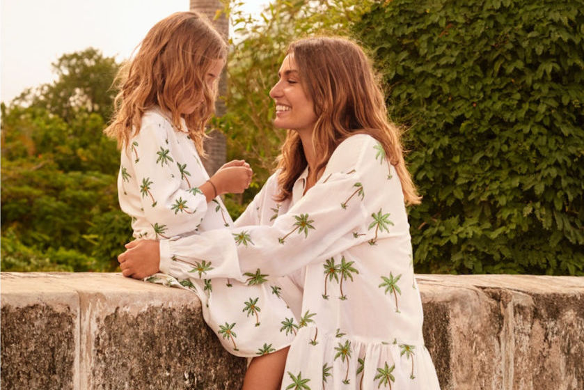 Twinning! Shop vanaf vandaag matching moeder en dochter-outfits bij H&M