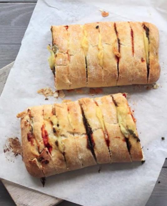 Pizza-snackbrood