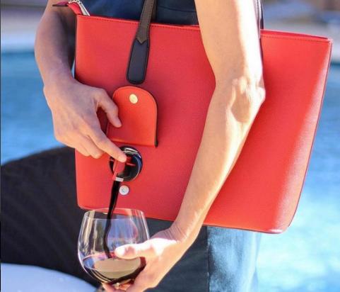 Hebben: Wijn waar je maar wilt dankzij deze tas