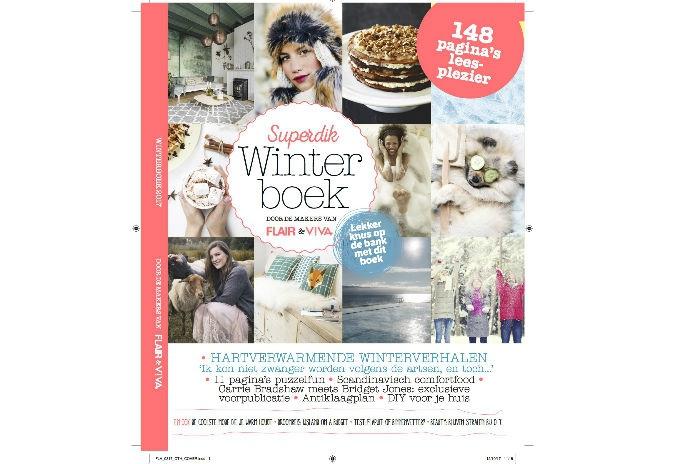 Vanaf nu in de winkel: het jaarlijkse winterboek van Flair