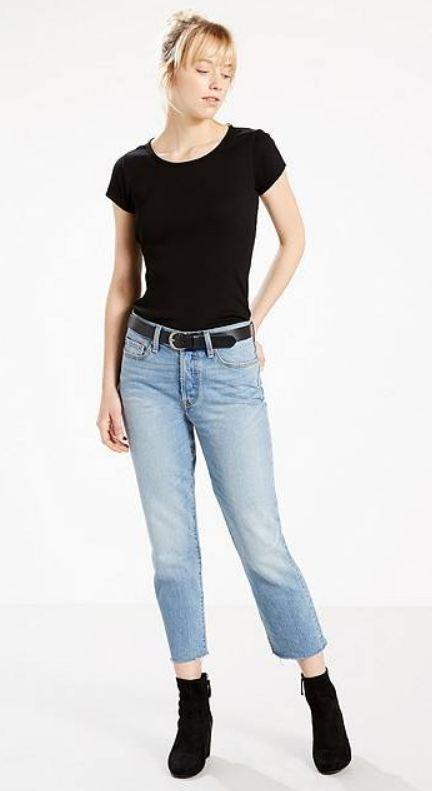 Jeans lichte wassing