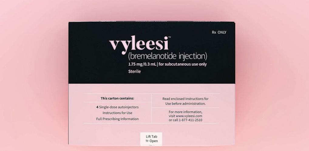 Ontmoet Vyleesi: nieuw lustopwekkend middel voor vrouwen goedgekeurd in Amerika