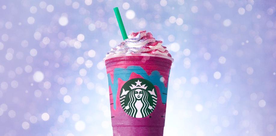Ook Starbucks doet mee aan de Unicorn trend en wij zijn obsessed