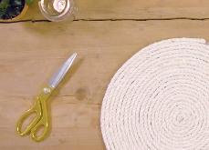 DIY: Maak zelf placemats van touw