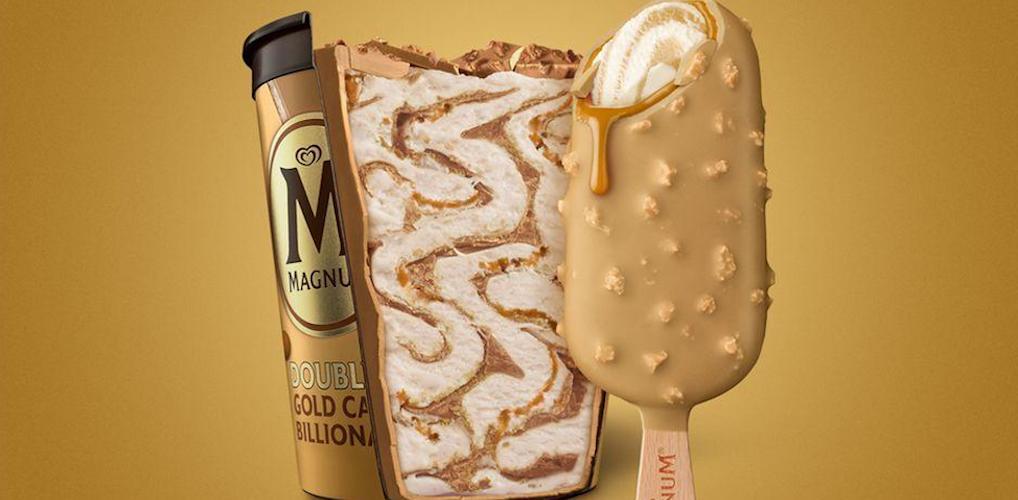 Magnum komt met een gouden salted caramel ijsje en die wil je