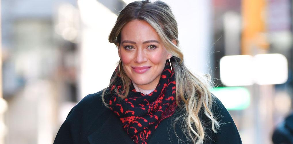 Blue da ba dee: Hilary Duff heeft een opvallende nieuwe haarkleur