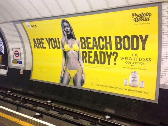 Burgemeester van Londen verbiedt body-shaming advertenties