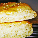 Oma's kebab met Turks brood