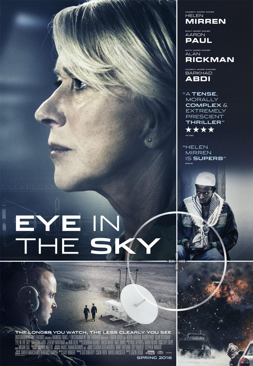 """Winnen: kaartjes voor de nieuwe film """"Eye in the Sky"""""""