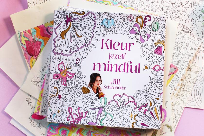 WIN: 5x het boek 'Kleur jezelf mindful' + Jill Rocket's VakanTEA box