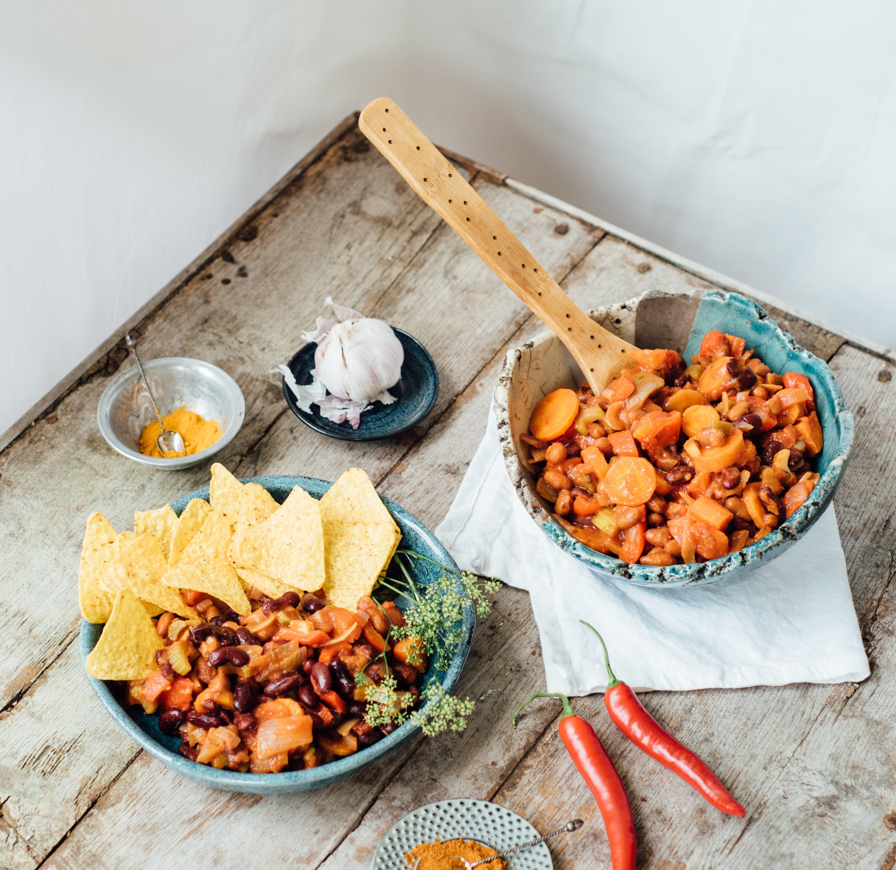Recept: chili sin carne van Lisa Goes Vegan