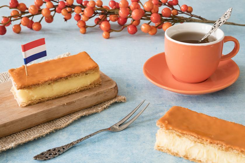 In een koningsdagroes met een oranje tompouce? Zóveel calorieën zitten er in dit royal gebakje