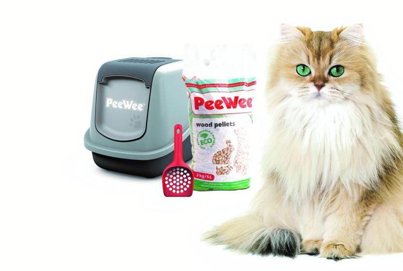 WIN WIN WIN: 3x compleet PeeWee kattenbaksysteem