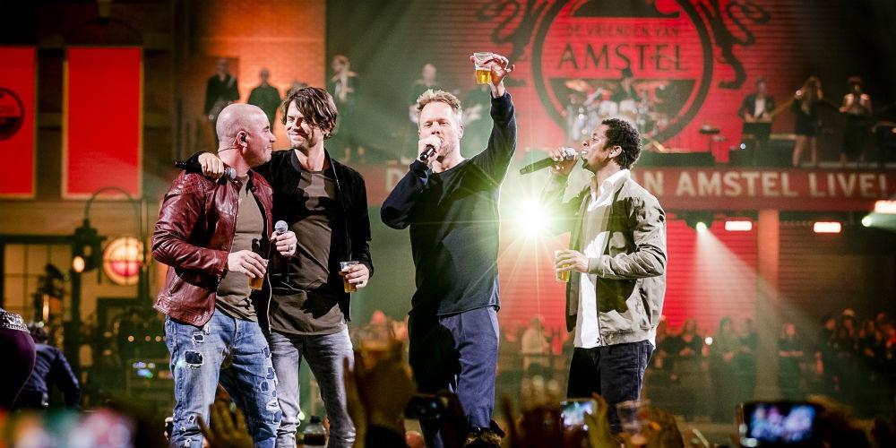 Yes! Het programma van De Vrienden van Amstel LIVE! is bekend