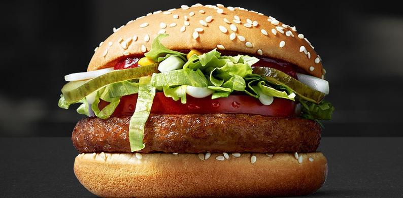 Vegans opgelet: McDonald's komt met plantaardige burger
