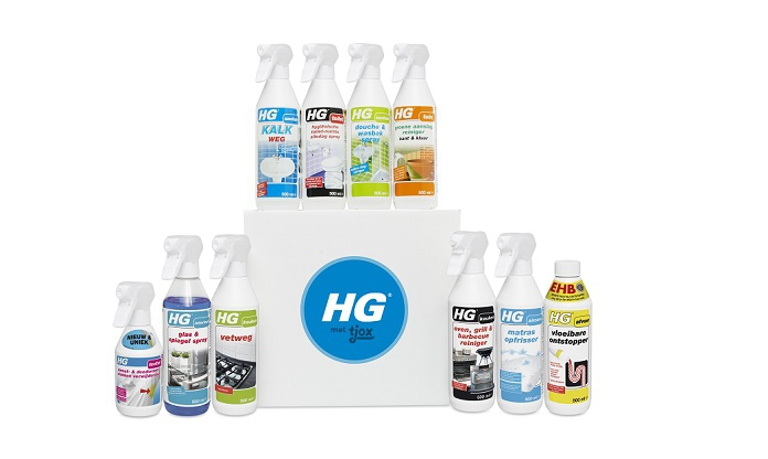 Voorjaarsschoonmaak? Bestel de HG tjox box voor €24,95!
