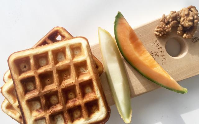 Recept: voor deze breakfast waffles kom je al dansend je bed uit