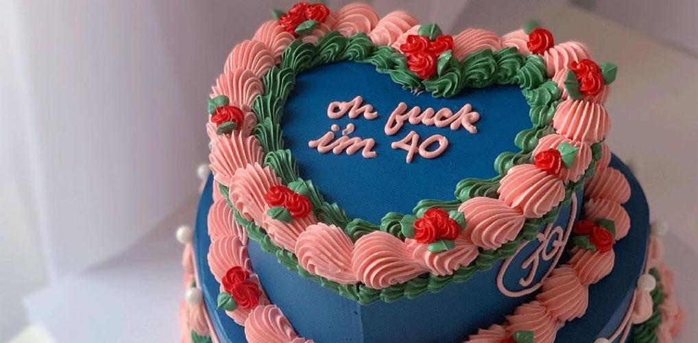 We love it: de kitscherige jaren 80 taart is terug