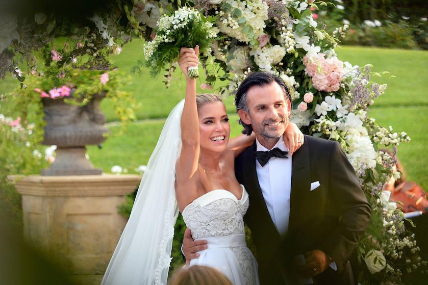 sylvie meis foto's bruiloft