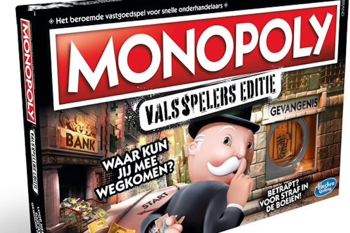 Bestellen, maar! Hier kun je de Monopoly Valsspelerseditie scoren