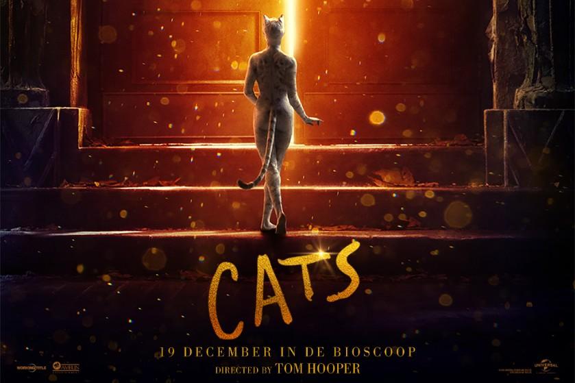 WIN: 2X2 kaarten voor de première van de film 'Cats'