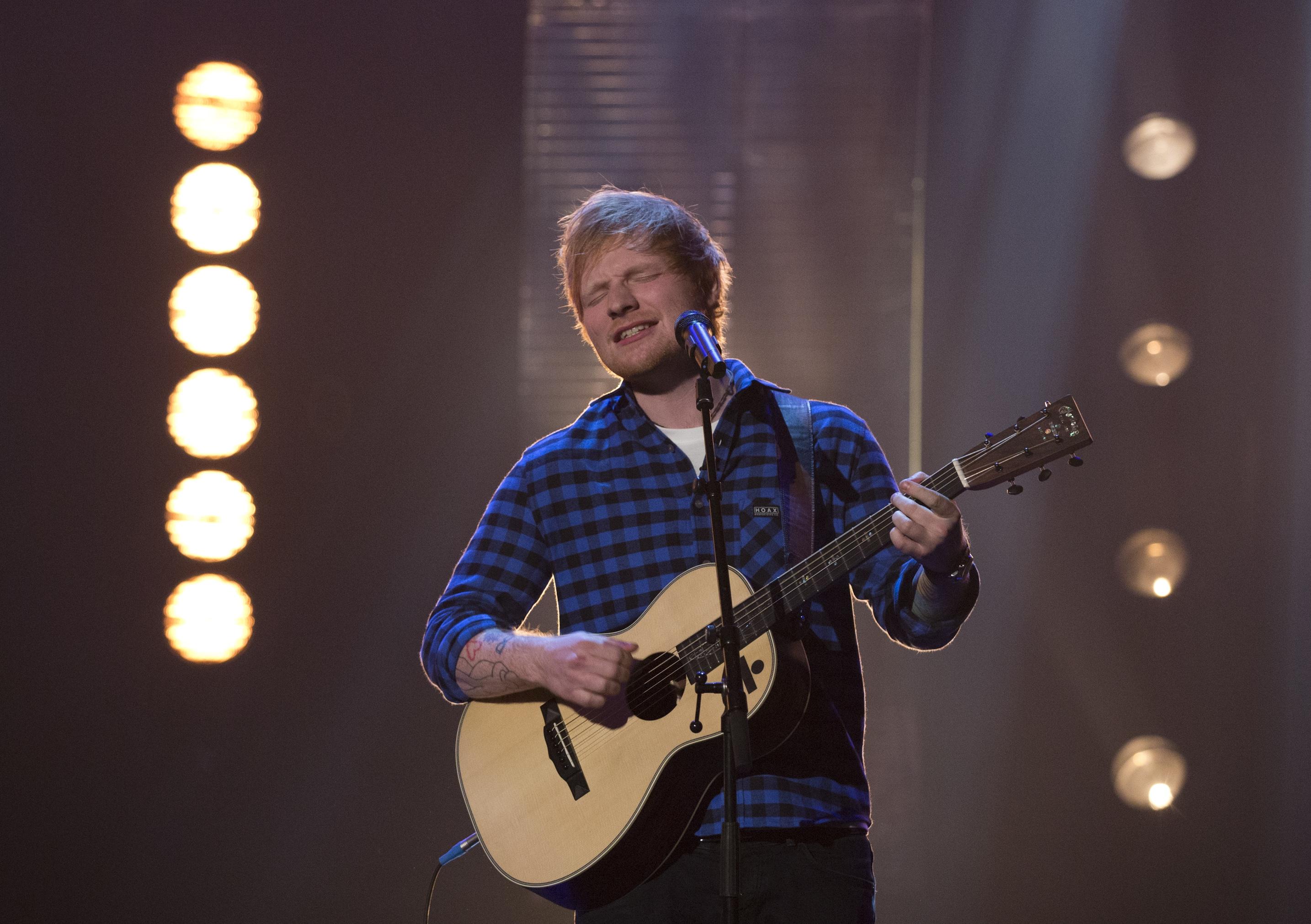 De kaartverkoop voor Ed Sheeran's concert begint morgen