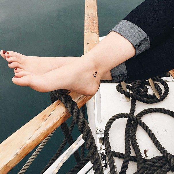 11 x de leukste en schattigste ideeën voor een kleine tattoo op je voet!